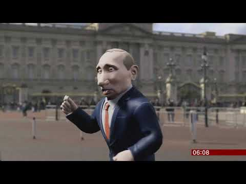 President Putin The Chat Show Host (UK/(Russia)) - BBC News - 22nd May 2019