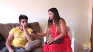 Auart Hi Aurta Di Dushman | Punjabi Funny Video | Latest Sammy Naz  | Geet