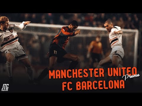 Manchester United vs FC Barcelona Promo - The Last 8