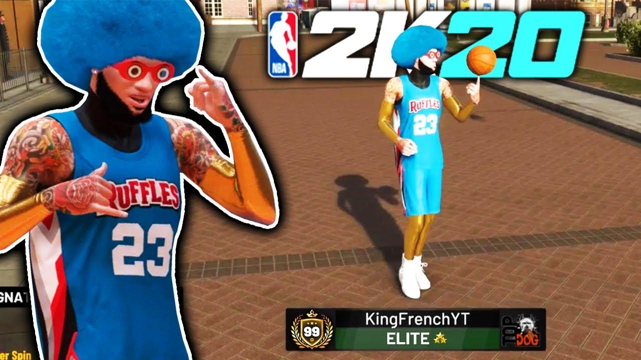 I TOOK MY 2K20 BUILD TO THE NEIGHBORHOOD 🏀 NBA 2K19