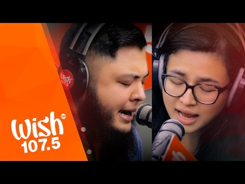 """Zia Quizon and Robin Nievera cover """"The Scientist"""" (Coldplay) LIVE on Wish 107.5 Bus"""