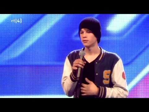 "X Factor Nederland 2011 - ""Tim"", ""Follow Through"" auditie show 1"