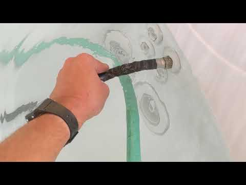 The BEST WAY To Drain Your HOT TUB