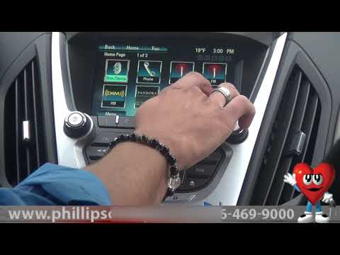 2013 Chevy Equinox - Guide to Dashboard Display & Controls at Phillips Chevrolet - Car Sales Chicago