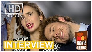Love Rosie | Lily Collins & Sam Claflin on love movies, friendship and (w)rapping INTERVIEW