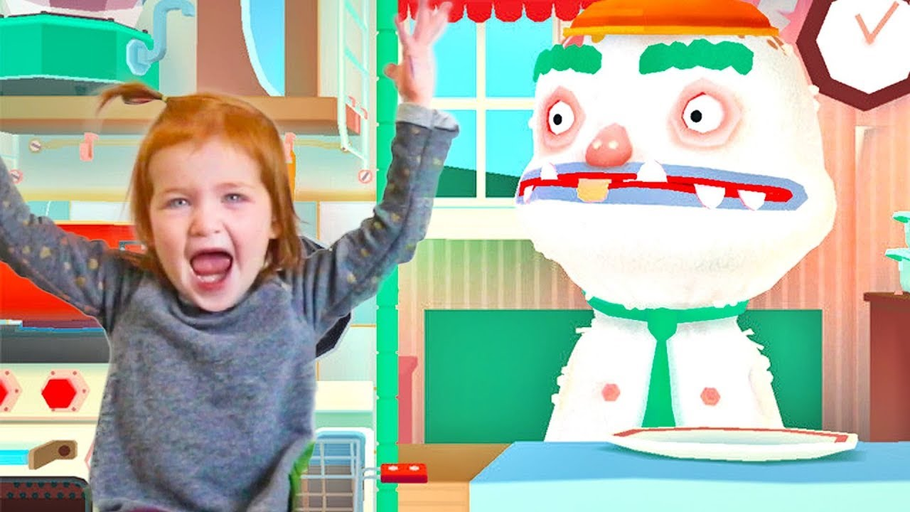 Download Adley App Reviews | Toca Kitchen 2 | feeding our friends