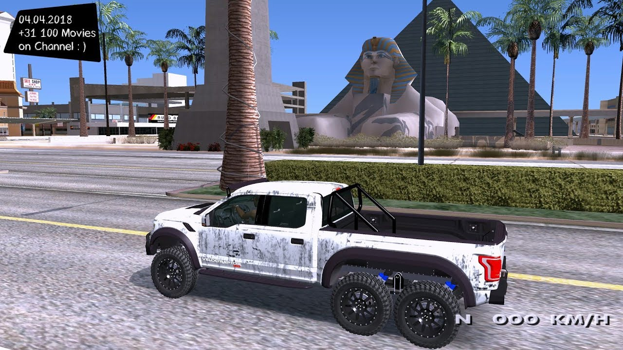 Ford Hennessey F150 Velociraptor 18 Grand Theft Auto San Andreas GtaInside  by GTA World Modifications