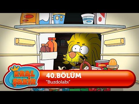 KRAL ŞAKİR: Buzdolabı - 40. Bölüm (Çizgi Film)