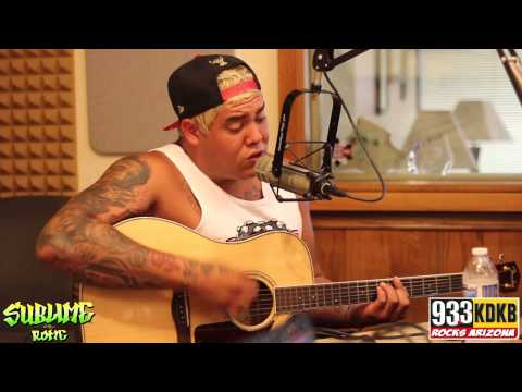 Sublime With Rome - Wrong Way Live At 93.3 KDKB