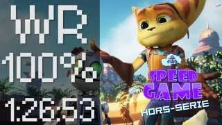 "Speed Game Hors-série: WR de Ratchet and Clank ""All Gold Bolts"" en 1:26:53"