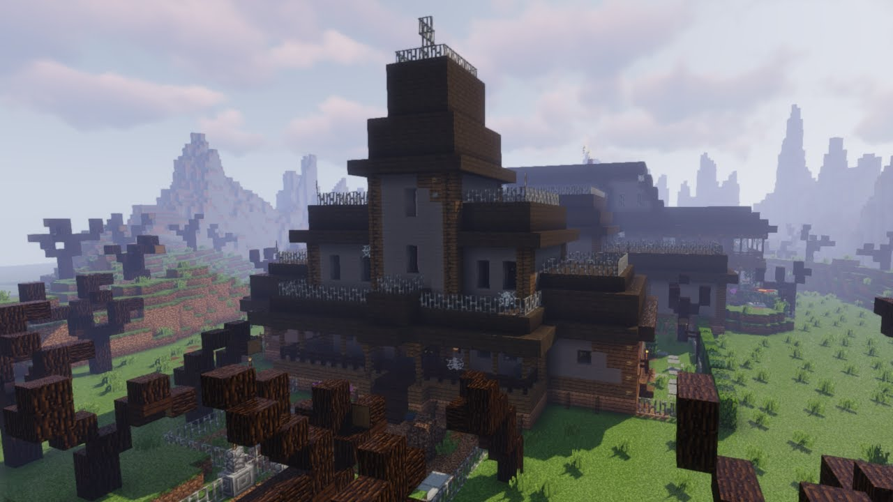 Adventure Mansion Map Minecraft Luigis
