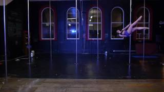 Brittney Young Pole Dance Competition Submission