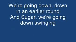 Repeat youtube video Fall Out Boy - Sugar We're Going Down With Lyrics! HQ