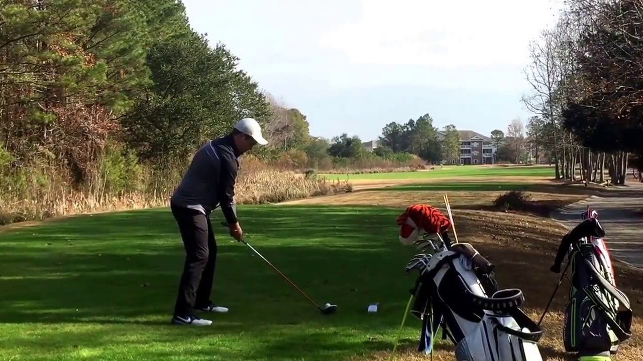 Marco Trstenjak driver h12 greg norman barefoot global golf 12/17/16 ...