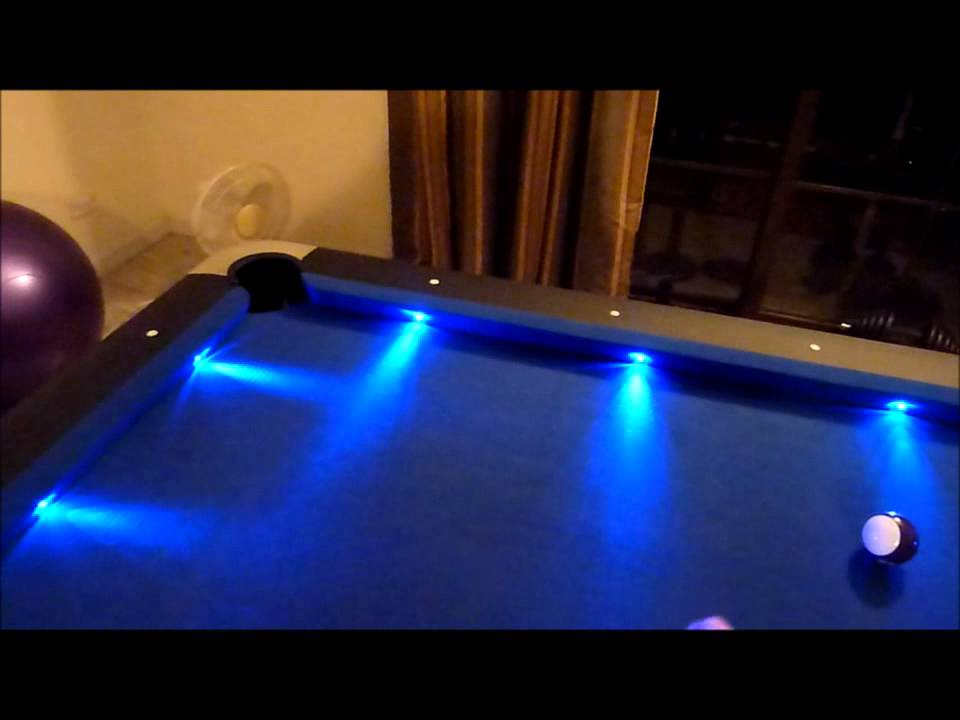 Led Pool Table Youtube