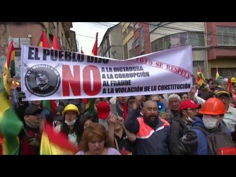 Президент Боливии: выборы будут, отсавка - нет