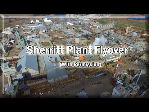 Sherritt Plant Flyover - Phantom 3 Pro