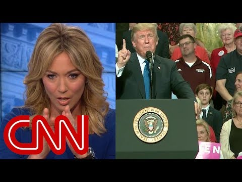 Brooke Baldwin: This face behind Trump startled me