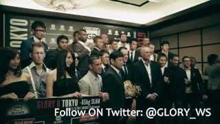 GLORY 8 Tokyo - Weigh Ins