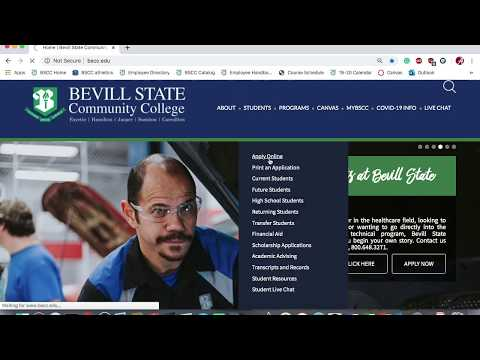 How To Apply for Admission to Bevill State Community College