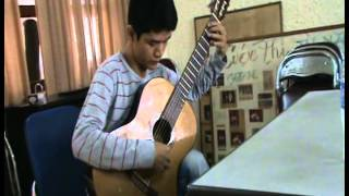 Ave Maria - F. Schubert (Lớp học guitarist Kim Chung)