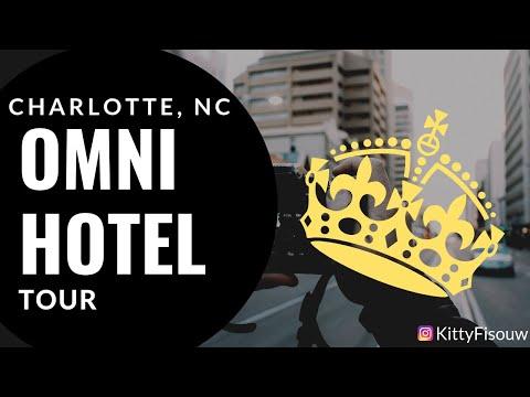 OMNI Hotel Room Tour   Weekend Getaway   Uptown Charlotte, NC