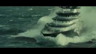 Шторм в Каспийском  море