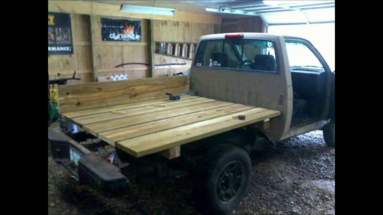 Nissan Hardbody Toyota Pickup Truck How To Wooden Flatbed Install