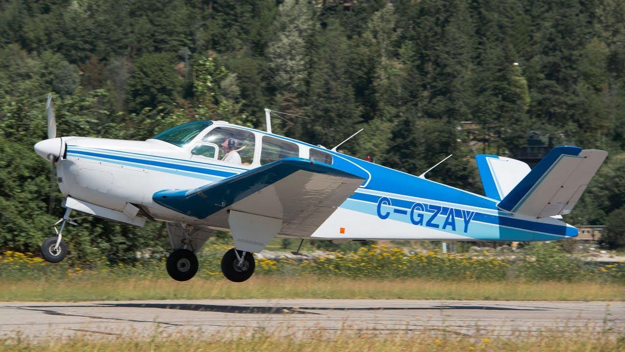 Download Beechcraft 35 Bonanza Takeoff