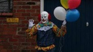 Clown Terrorizes English Town Just By Standing Around
