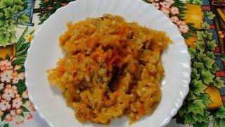 Бигус (бигос) с мясом и рисом - согревающее зимнее блюдо