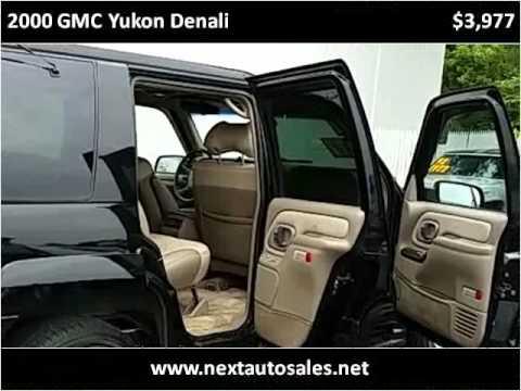 2000 GMC Yukon Denali Used Cars McHenry IL