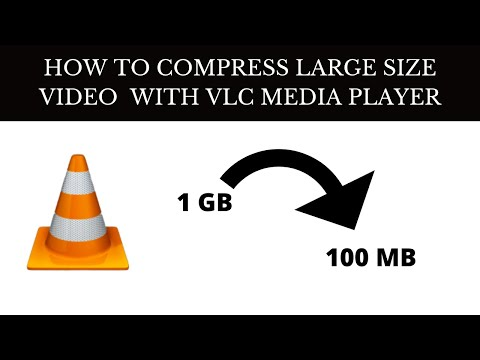 How To Quickly Compress Large Video Files WITH VLC - SECRET GEEK