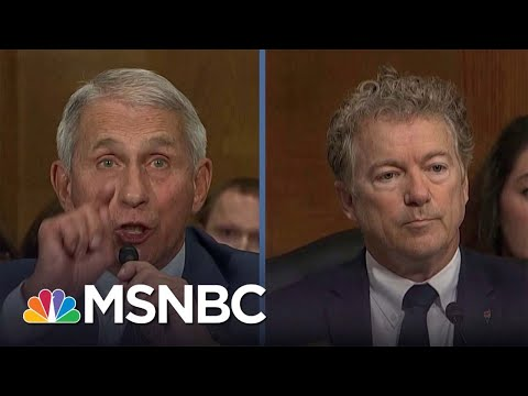 Fauci Blasts Rand Paul: 'You Do Not Know What You're Talking About'
