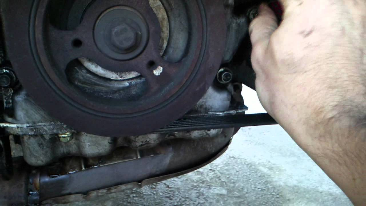 how to change the crankshaft postion sensor of ford escape [ 1280 x 720 Pixel ]