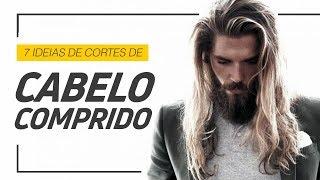 ✂️ Corte de cabelo masculino comprido: 7 inspirações para você ✂️