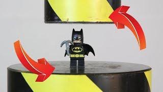 Experiment Hydraulic Press VS Lego Batman | The Crusher