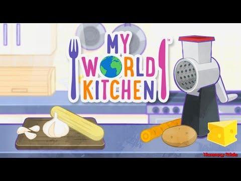 My World Kitchen Gameplay For Kids