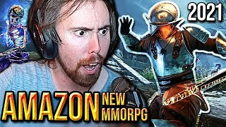 Asmongold reacts to New World Game REVAMP (2021) - Amazon MMORPG | By Force Gaming
