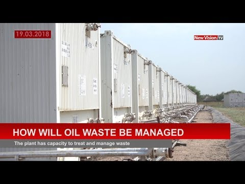 How will oil waste be managed