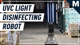 This Robot Can Disinfect An Entire Warehouse In Half An Hour | Strictly Robots