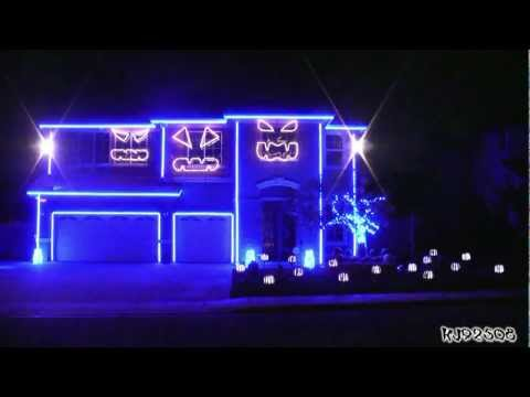 Halloween Light Show 2011 Party Rock Anthem