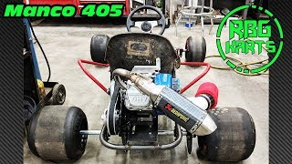 Manco 405 Restoration Ep 2 ~ WORLDS MOST POWERFUL GO KART?!?! nope