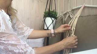 Декор для дома: Кашпо / plant hanger