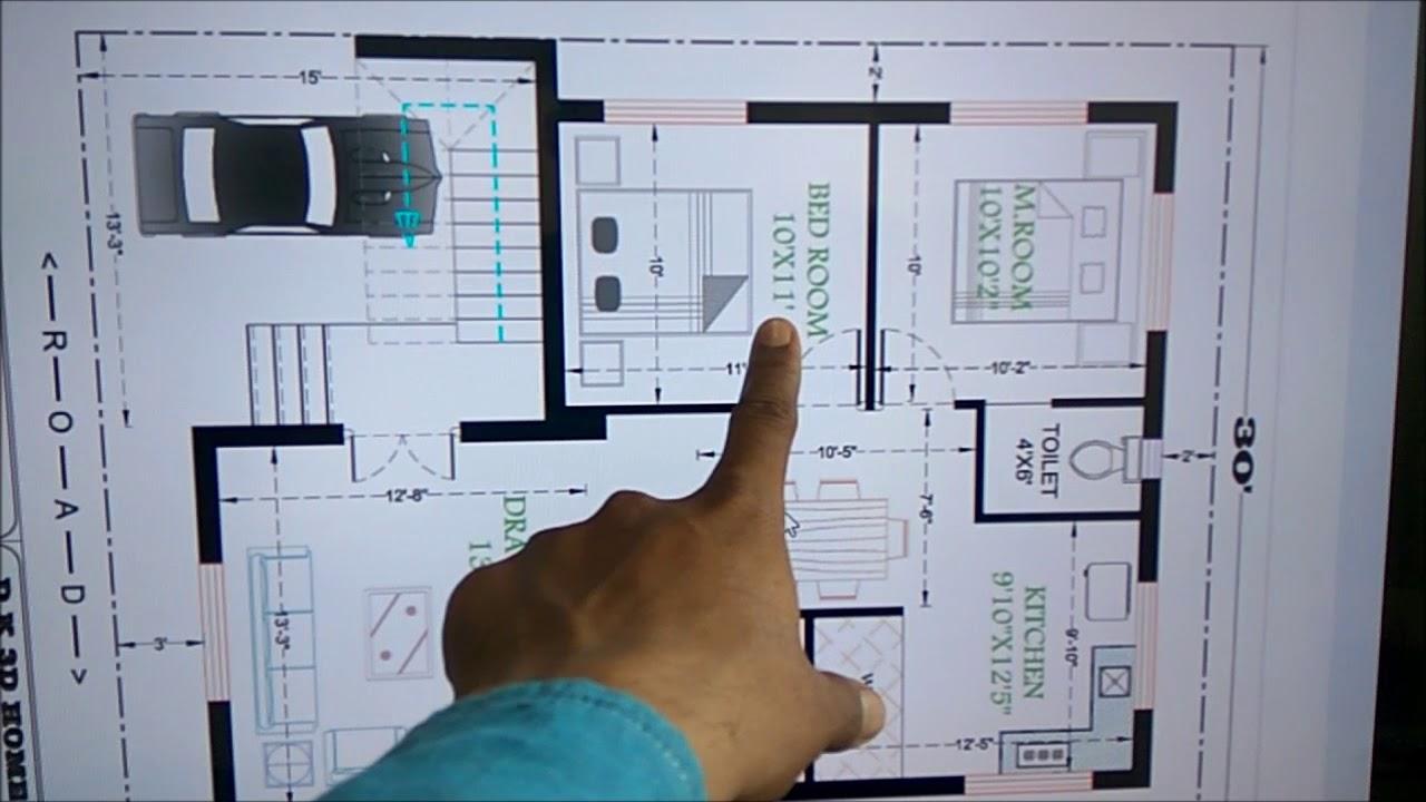 30x40 BEST HOUSE PLAN
