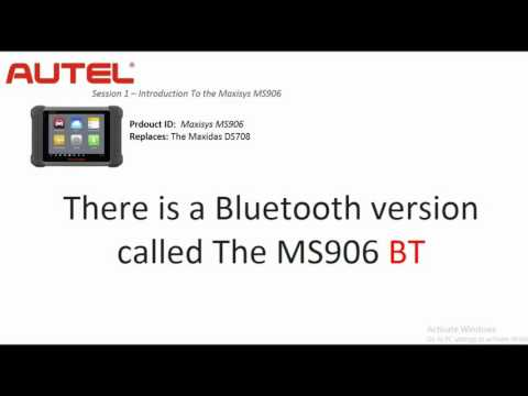 Autel Maxisys MS906 Maxisys Diagnostic Tool Review