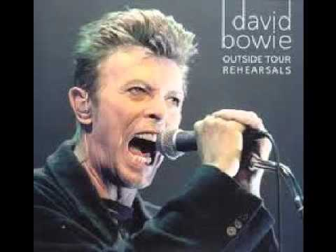 DAVID BOWIE ... THE OUTSIDE TOUR - LIVE STUDIO REHEARSALS  (TRACKS ONLY)