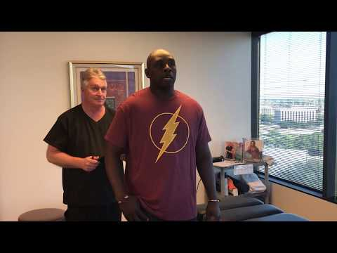 Miami Florida Man Drives To Houston Chiropractor Dr Gregory Johnson At Advanced Chiropractic Relief