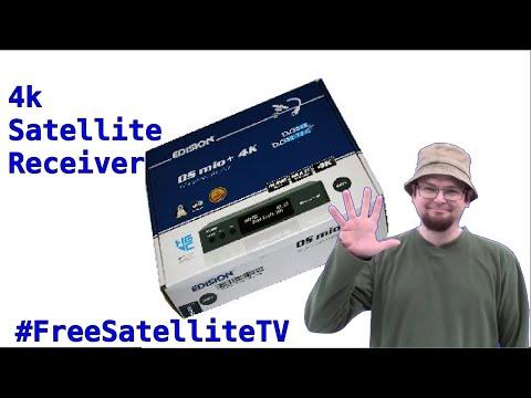 Edision OS MIO+ 4K UHD Free To Air Satellite Receiver