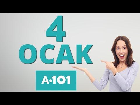 A101 4 OCAK 2018 PERŞEMBE | A101 İNDİRİM KATALOĞU | A101 AKTÜEL ÜRÜNLER | 4 OCAK A101 BROŞÜR